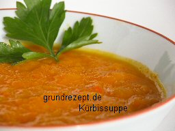 Kürbis-Suppe